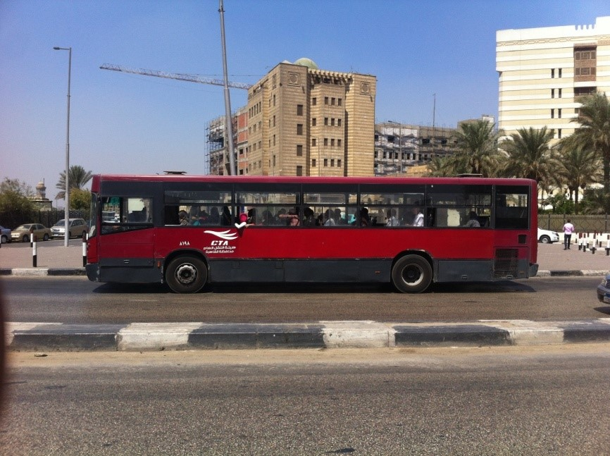 bus in Egypt