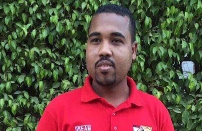 Kanye West lookalike