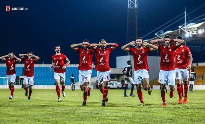 Ahly players