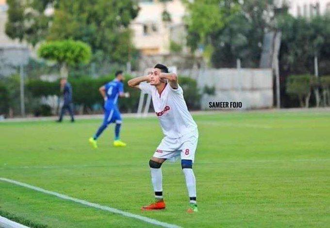 Palestinian player