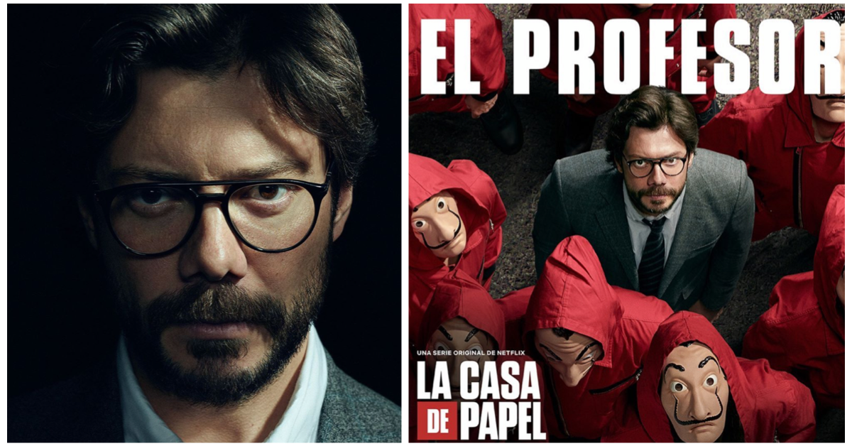 Exclusive Interview With La Casa De Papel S álvaro Morte El Profesor Identity Magazine